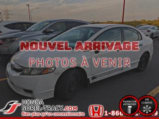 Used 2009 Honda Civic 4 portes, boîte automatique, DX-A+A/C for sale in Sorel-Tracy, QC