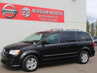 Used 2017 Dodge Grand Caravan Crew/AUTO CLIMATE/7 PASSENGER/STOW N' GO for sale in Edmonton, AB