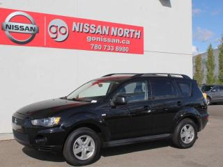 Used 2013 Mitsubishi Outlander ES/4WD/KATZKIN CUSTOM LEATHER for sale in Edmonton, AB