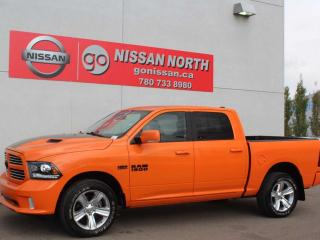 Used 2015 RAM 1500 Sport/4X4/CREW CAB/ONE OWNER/SUNROOF for sale in Edmonton, AB