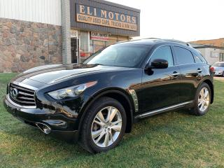 Used 2012 Infiniti FX35 LIMITED EDITION AWD NAVI 360 CAMERA for sale in North York, ON