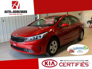 Used 2017 Kia Forte LX BM 20 000KM GARANTIE 2022 8X PNEUS for sale in Notre-Dame-des-Pins, QC