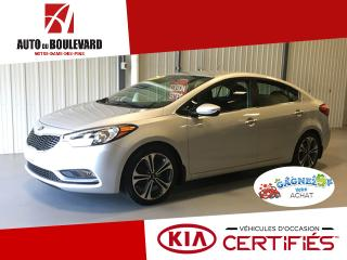 Used 2016 Kia Forte EX GDI MAGS CAMÉRA RECUL PRET HIVER for sale in Notre-Dame-des-Pins, QC