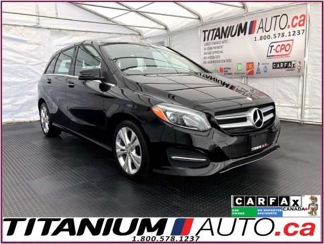 2016 Mercedes-Benz B-Class 4Matic+GPS+Camera+Pano Roof+Blind Spot+HID Lights+