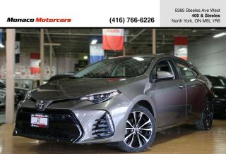 Used 2017 Toyota Corolla XSE CVT - LEATHER|NAVI|BACKUP|SUNROOF|BLINDSPOT for sale in North York, ON