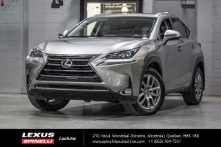 Used 2017 Lexus NX 200t PREMIUM AWD; CUIR TOIT CAMERA ANGLES MORT MONITEUR ANGLES MORTS - CAMERA DE RECUL - VOLANT CHAUFFANT - SONAR DE STATIONNEMENT for sale in Lachine, QC