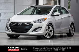 Used 2013 Hyundai Elantra SE TECH; CUIR TOIT PANO GPS CAMERA BLUETOOTH NAVIGATION - TOIT PANORAMIQUE - CAMERA DE RECUL - DÉMARREUR À DISTANCE -GARANTIE PROLONGÉ HYUNDAI for sale in Lachine, QC