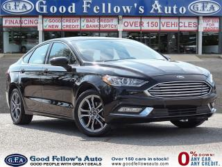 Used 2017 Ford Fusion SE MODEL, POWER SEATS, REARVIEW CAMERA, 1.5 ECO for sale in Toronto, ON