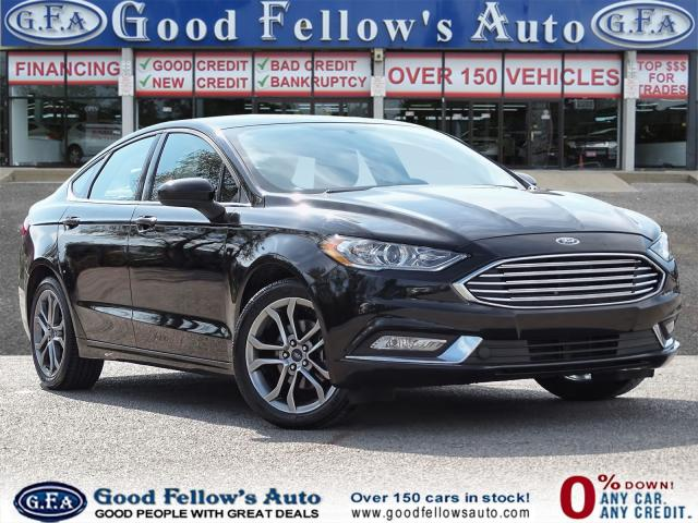 2017 Ford Fusion SE MODEL, POWER SEATS, REARVIEW CAMERA, 1.5 ECO