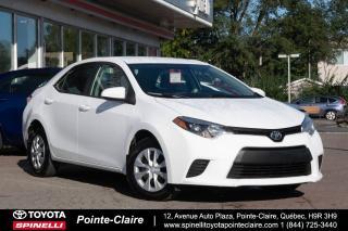 Used 2014 Toyota Corolla ***RÉSERVÉ***CE BLUETOOTH, GROUPE ÉLECTRIQUE for sale in Pointe-Claire, QC