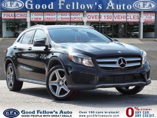 Used 2016 Mercedes-Benz GLA 250 4MATIC, PANORAMIC ROOF, BLIND SPOT MONITORING,NAVI for sale in Toronto, ON