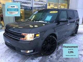Used 2019 Ford Flex Awd SEL AWD ENS SPORT CERTIFIÉ FORD TAUX for sale in St-Georges, QC