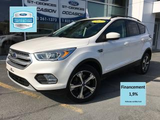 Used 2017 Ford Escape SE AWD GPS MAGS 18 CERTIFIÉ FORDTAUX A 1.9r MOIS for sale in St-Georges, QC