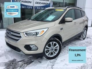 Used 2017 Ford Escape SE AWD CERTIFIÉ FORD TAUX 1.9% 72 MOIS C for sale in St-Georges, QC