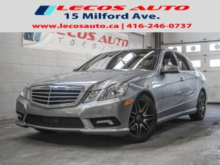 Used 2010 Mercedes-Benz E-Class E 550 for sale in North York, ON