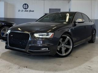Used 2013 Audi S4 SPORT DIFF|NAV|BACK UP|ACCIDENT FREE|BLND SPT| for sale in Oakville, ON