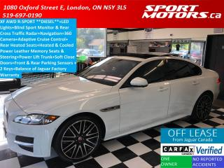 Used 2017 Jaguar XF 20d R-Sport+Adaptive Cruise+360 Camera+GPS for sale in London, ON