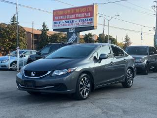 Used 2013 Honda Civic EX for sale in Toronto, ON