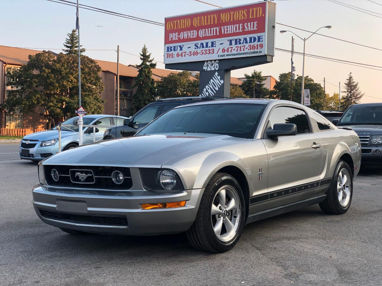 Ontario Quality Motors >> Used 2008 Ford Mustang For Sale In Toronto Ontario