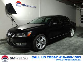 Used 2012 Volkswagen Passat TDI DSG Sunroof Leather Heated Bluetooth Certified for sale in Toronto, ON