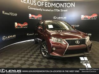 Used 2013 Lexus RX 350 F Sport for sale in Edmonton, AB