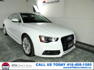 Used 2016 Audi A5 Progressiv Plus AWD Nav Sunroof Leather Certified for sale in Toronto, ON