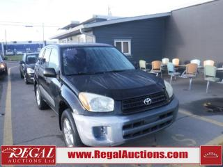 Used 2001 Toyota RAV4 4D Utility 4WD for sale in Calgary, AB
