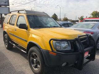 Used 2002 Nissan Xterra SUPERCHARGED AWD, ACCIDENT FREE, WARRANTY, CERTIFI for sale in Woodbridge, ON