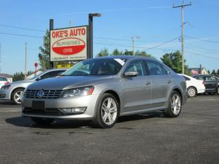 Used 2012 Volkswagen Passat 2.0L TDI SEL2 for sale in Alvinston, ON