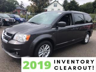 New 2019 Dodge Grand Caravan SXT Premium Plus | Leatherette Trim | Power Doors for sale in Mitchell, ON