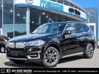 Used 2016 BMW X5 X5|NO ACCIDENTS|ONE OWNER|FINANCING AVAILABLE for sale in Mississauga, ON