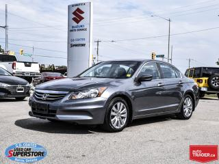 Used 2012 Honda Accord Sedan EX-L ~Heated Leather ~Power Sunroof ~ONLY 53,000KM for sale in Barrie, ON
