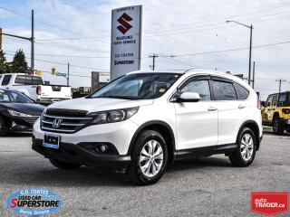 Used 2014 Honda CR-V Touring AWD ~Nav ~Cam ~Heated Leather ~Moonroof for sale in Barrie, ON