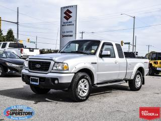 Used 2009 Ford Ranger Sport Super Cab 4x4 for sale in Barrie, ON