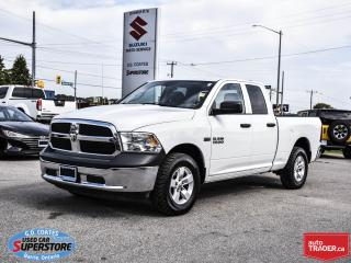 Used 2014 RAM 1500 ST Quad Cab 4x4 ~Trailer Tow ~Alloy Wheels for sale in Barrie, ON