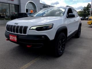 Used 2019 Jeep Cherokee TRAILHAWK 4X4 V6 for sale in Hamilton, ON