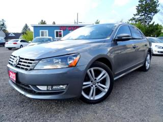 Used 2013 Volkswagen Passat Highline TDI DSG Sunroof Bluetooth Certified for sale in Guelph, ON