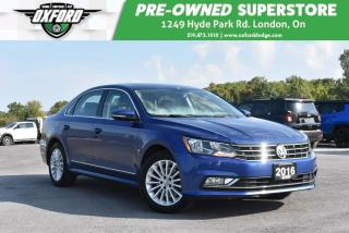 Used 2016 Volkswagen Passat 1.8 TSI Comfortline - One Owner, Low Kms, Sunroof for sale in London, ON