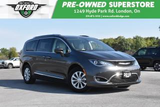Used 2018 Chrysler Pacifica Touring Plus - Tow Package, Roof Rack, Backup for sale in London, ON