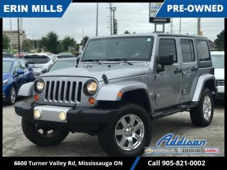 Used 2013 Jeep Wrangler Unlimited Sahara 4D Utility 4WD  HEATED SEATS|NAVI|AUTOMATIC| for sale in Mississauga, ON