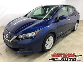 Used 2019 Nissan Leaf ZERO EMISSION BLUETOOTH CAMÉRA DE RECUL SIÈGES CHAUFFANTS A/C for sale in Shawinigan, QC