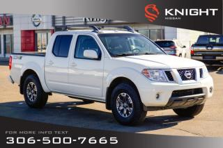 Used 2015 Nissan Frontier PRO-4X | Leather | Low KMs | Heated Seats | for sale in Swift Current, SK