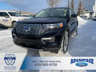 Used 2020 Ford Explorer Platinum LOADED - HEATED SEATS - HANDS FREE LIFTGATE for sale in Calgary, AB
