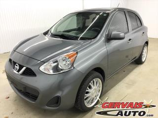 Used 2017 Nissan Micra Bluetooth A/c for sale in Shawinigan, QC