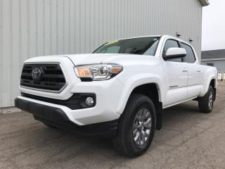 Used 2019 Toyota Tacoma SR5 V6 4X4 DOUBLE CAP PICKUP WITH FACTORY WARRANTY + BACKUP CAMERA! for sale in Charlottetown, PE