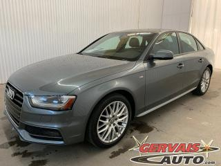 Used 2015 Audi A4 Komfort plus Quattro MAGS Cuir Toit ouvrant for sale in Shawinigan, QC