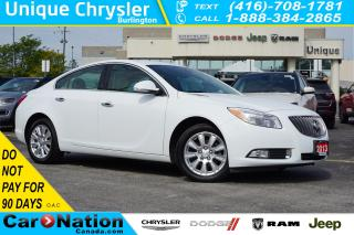 Used 2013 Buick Regal 1SL| eASSIST| LEATHER| HEATED SEATS| REMOTE START for sale in Burlington, ON