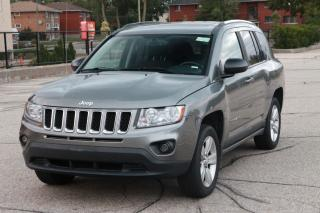 Used 2011 Jeep Compass Sport/North SUNROOF | NO Accidents | 4x4 | CERTIFIED for sale in Waterloo, ON