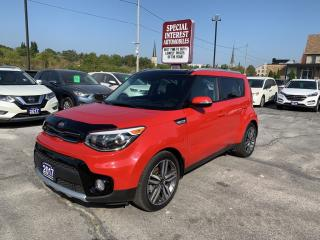 Used 2017 Kia Soul EX Tech SUNROOF !!  LEATHER !!  HEATED SEATS !! for sale in Cambridge, ON