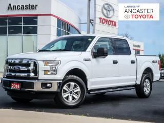 Used 2016 Ford F-150 XLT - 1 OWNER|SUPERCREW|TONNEAU|ALLOYS for sale in Ancaster, ON
